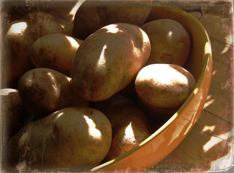Potatoes Digital Art - Keep Your Potatoes by Tg Devore