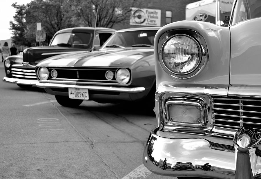 old school black and white
