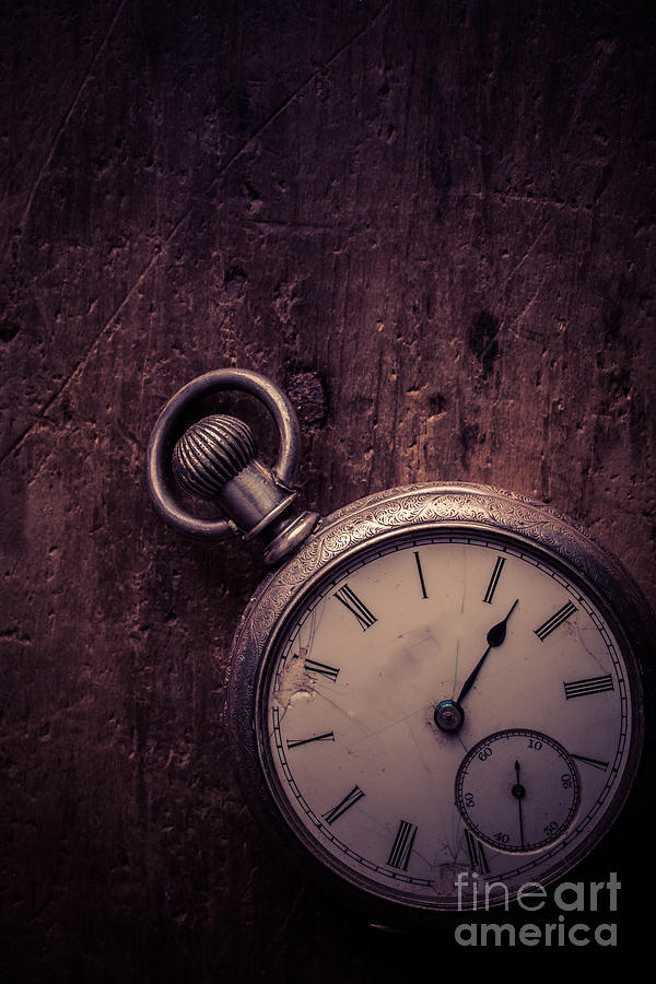 Keeping Time Photograph - Keeping Time by Edward Fielding