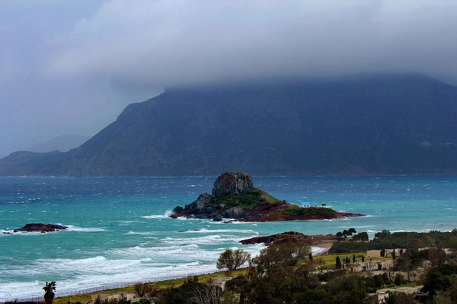 Seaway Photograph - Kefalos Kos Greece by Julia Fine Art And Photography