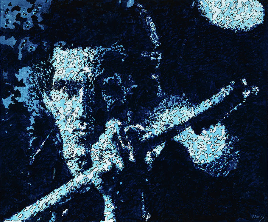 Keith Richards Painting - Keith Richards by Barry Novis