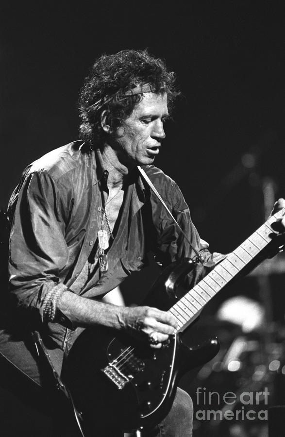 Guitarist Photograph - Keith Richards by Concert Photos
