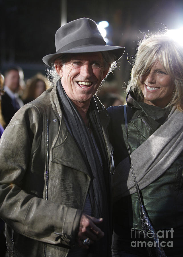 Hat Photograph - Keith Richards by Nina Prommer