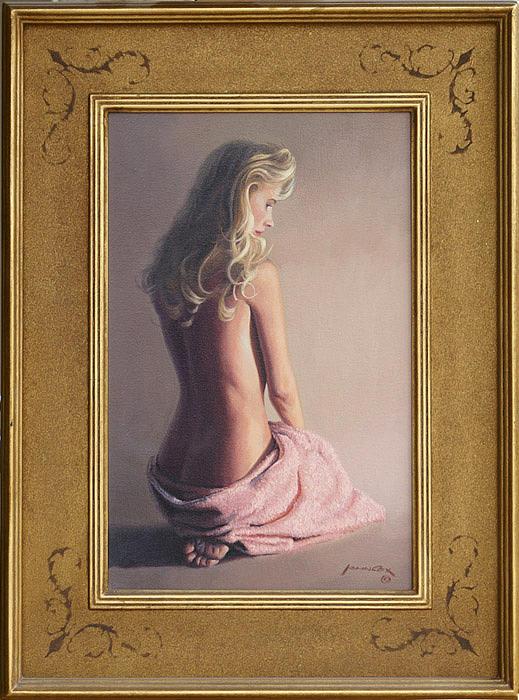 Nude Painting - Kelli by John Cox