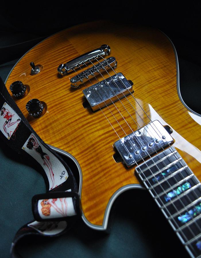Guitar Photograph - Kelly Girls by Everett Bowers