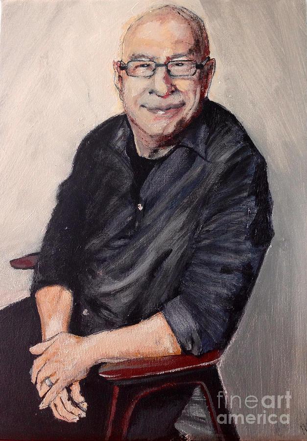 Bbc Radio 2 Painting - Ken Bruce by Michelle Deyna-Hayward
