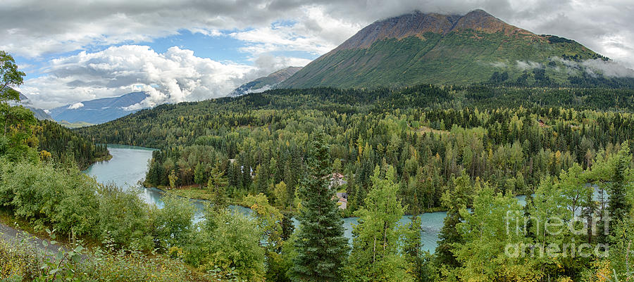 Alaska Photograph - Kenai River Alaska by Paul Karanik