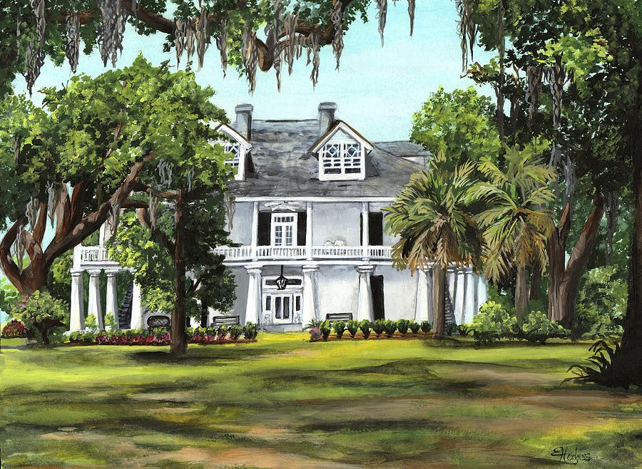 Kenilworth Plantation Painting By Elaine Hodges