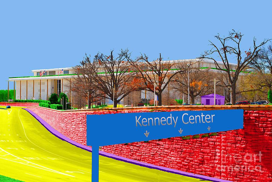 Kennedy Photograph - Kennedy Center by Jost Houk