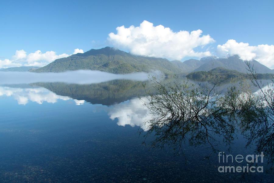 Lake Photograph - Kennedy Lake by Frank Townsley