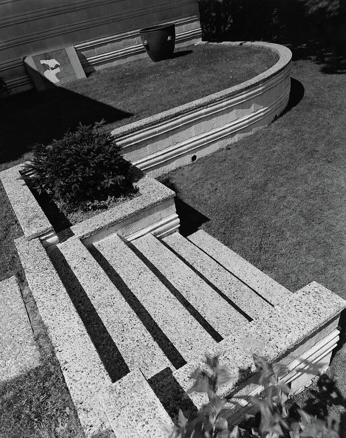 Kenneth Kasslers Garden Photograph by Robert M. Damora