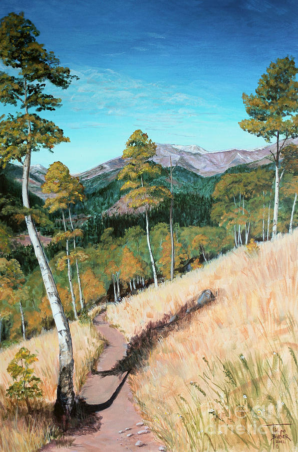 Kenosha Pass - Colrado Trail by Art By - Ti   Tolpo Bader