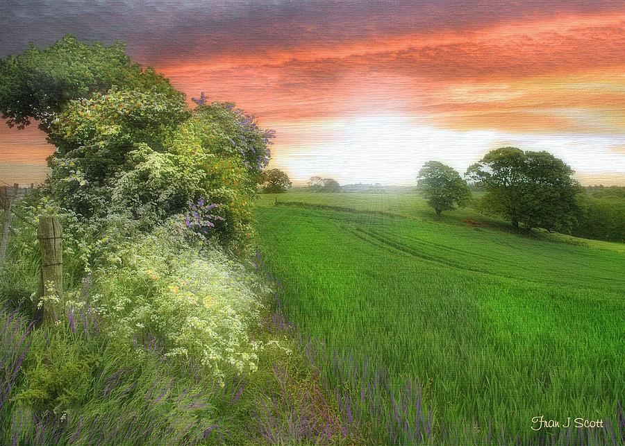 Landscapes In Art Photograph - Kent Between Storms by Fran J Scott