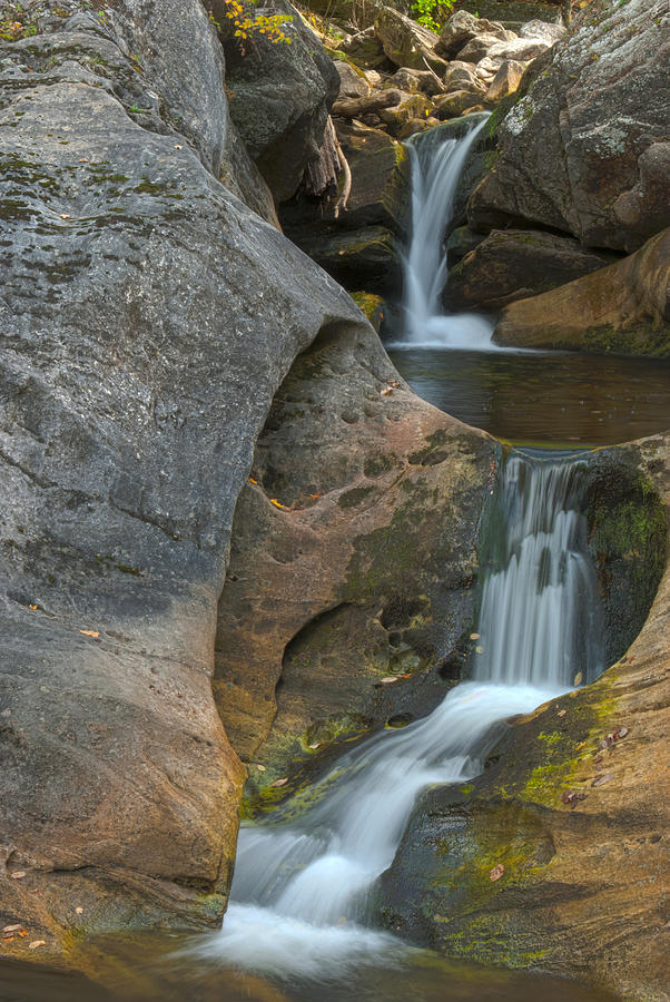 Hdr Photograph - Kent Falls Hdr 1 by Clifford Pugliese