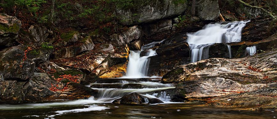 Kent Falls Panoramic by Mike Farslow