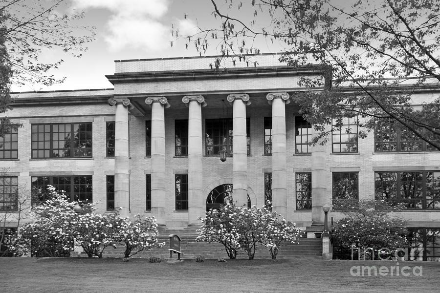 Kent State University Photograph - Kent State University Kent Hall by University Icons