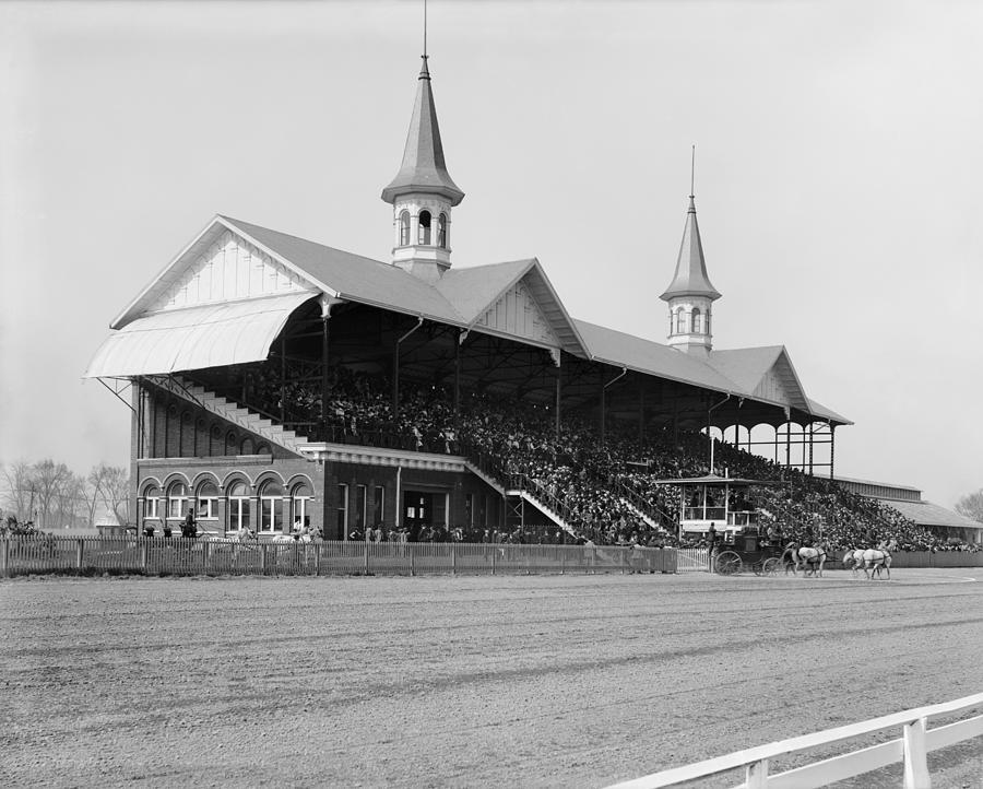1901 Photograph - Kentucky Derby, 1901 by Granger