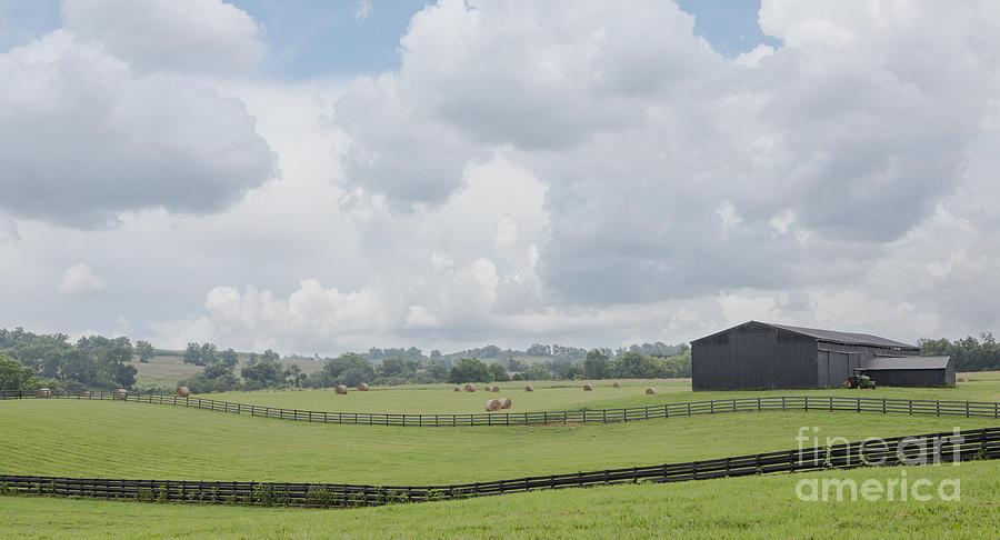 Kentucky Photograph - Kentucky Farm by Kay Pickens
