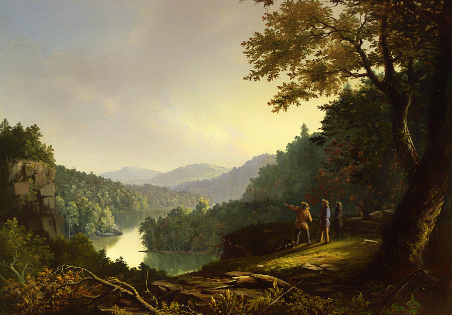 Painting Painting - Kentucky Landscape 1832 by Mountain Dreams