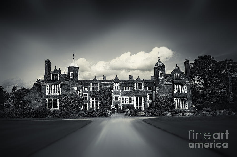 Abbey Photograph - Kentwell Hall by Svetlana Sewell