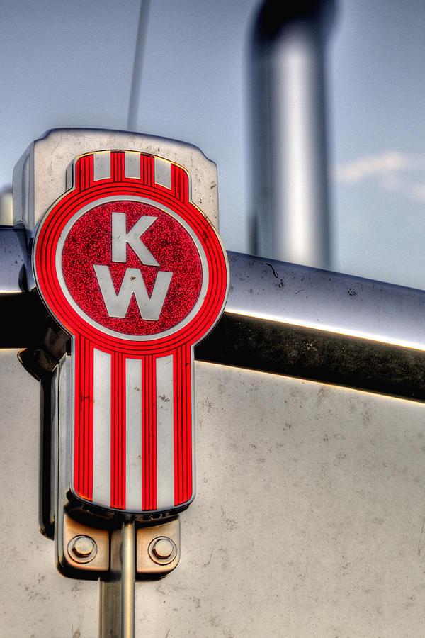 Kenworth Hood Logo 34709 Photograph