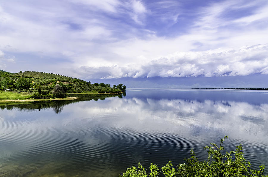 Beautiful Photograph - Kerkini Lake View. by Slavica Koceva