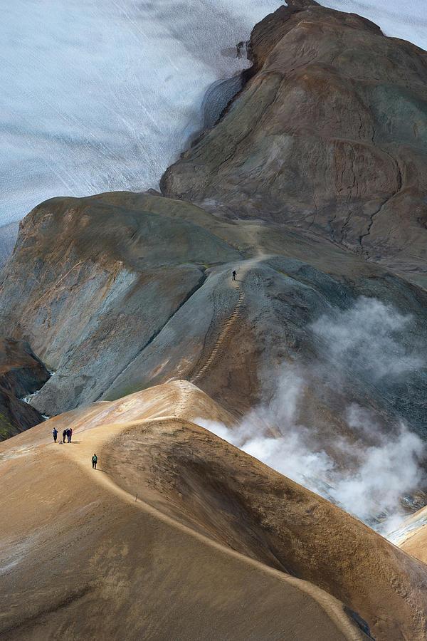 Iceland Photograph - Kerlingarfja?ll by Ira Aschermair