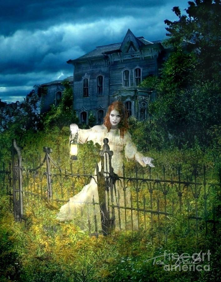 Paranormal Photograph - Kerzner Manor by Tom Straub