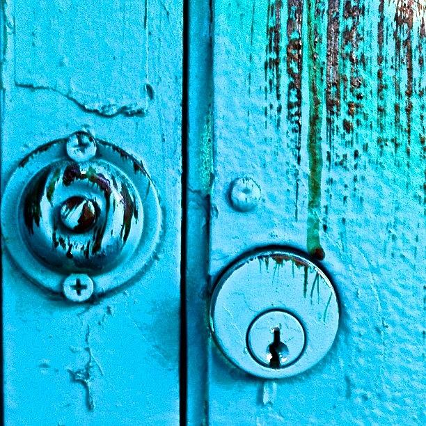 Sanfrancisco Photograph - Key Hole And Doorbell by Julie Gebhardt