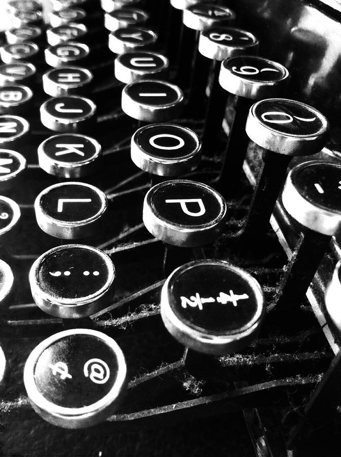 Typewriter Digital Art - Key Strokes  by Natalya Karavay