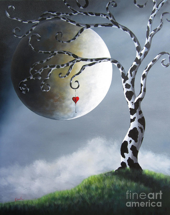 Surreal Painting - Key To My Imagination By Shawna Erback by Shawna Erback