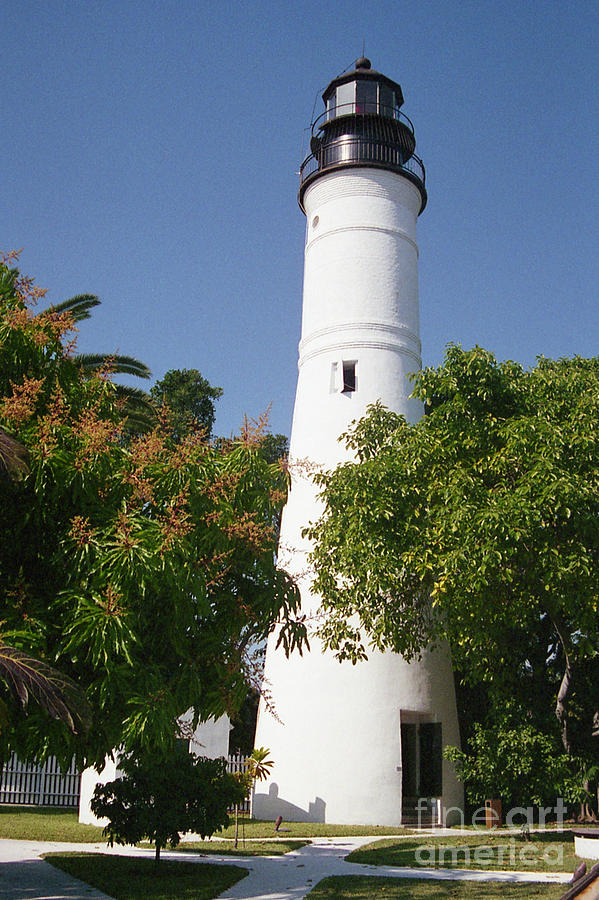 Key West Lighthouse Photograph By Crystal Nederman