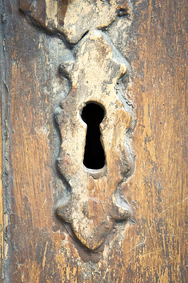 Abstract Photograph - Keyhole by Tom Gowanlock