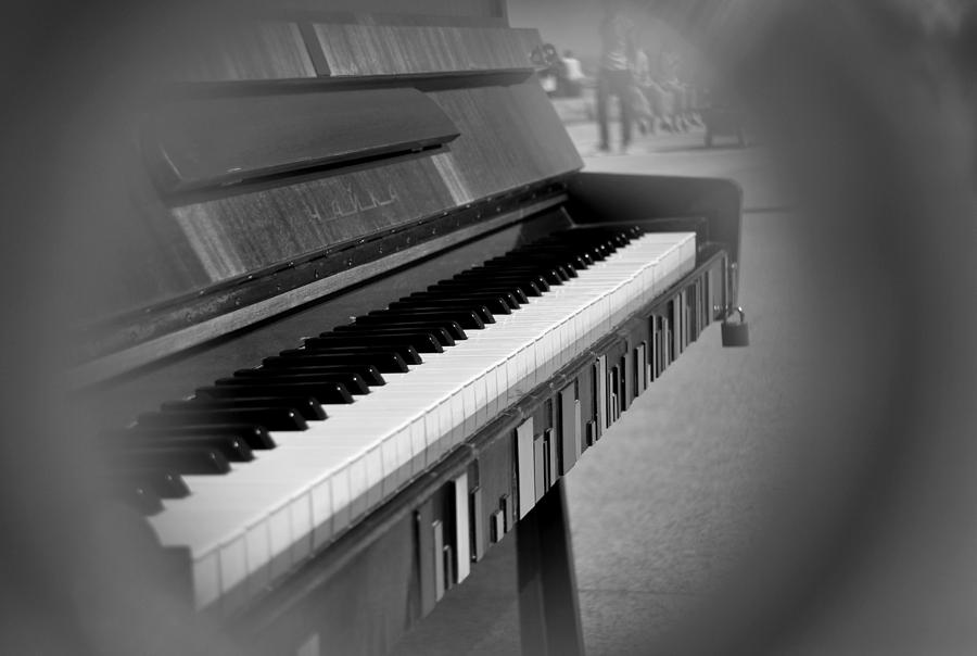 Piano Photograph - Keys 1 by Frederico Borges