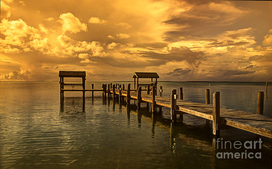 Florida Keys Photograph - Keys II by Bruce Bain