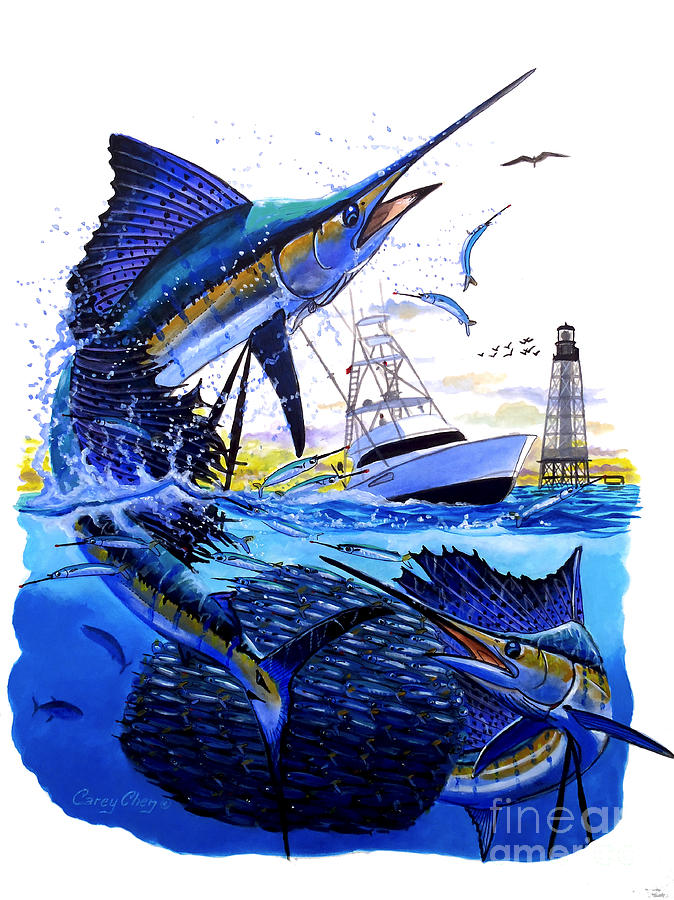 Keys Sail Painting by ...