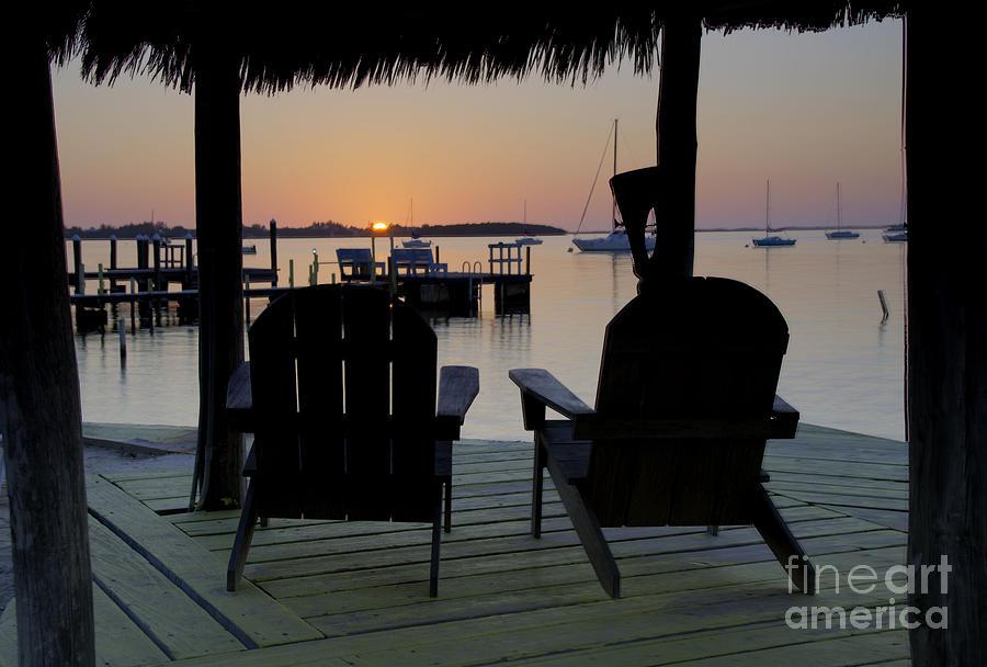 Sunset Photograph - Keys Sunset Iv by Bruce Bain