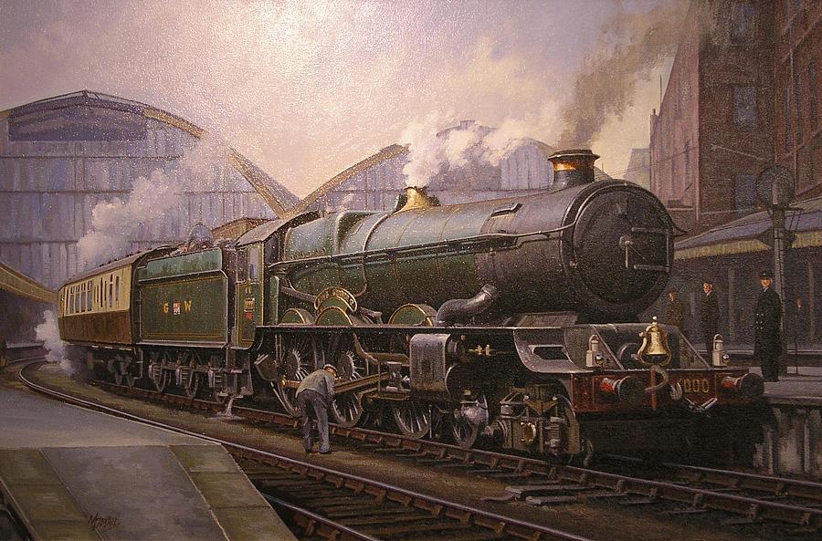 United Kingdom Painting - Kg5 At Paddington. by Mike  Jeffries
