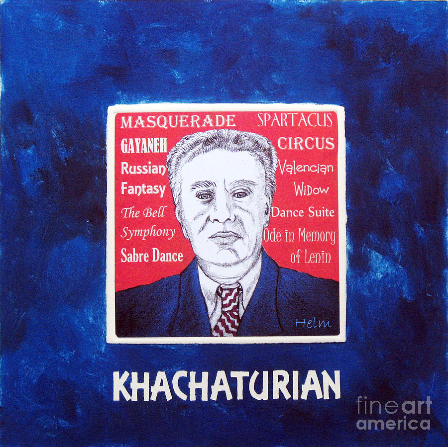 Khachaturian Mixed Media - Khachaturian by Paul Helm