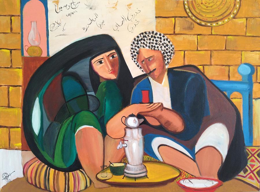 Khadri El Chai Khadri  Painting by Rami Besancon