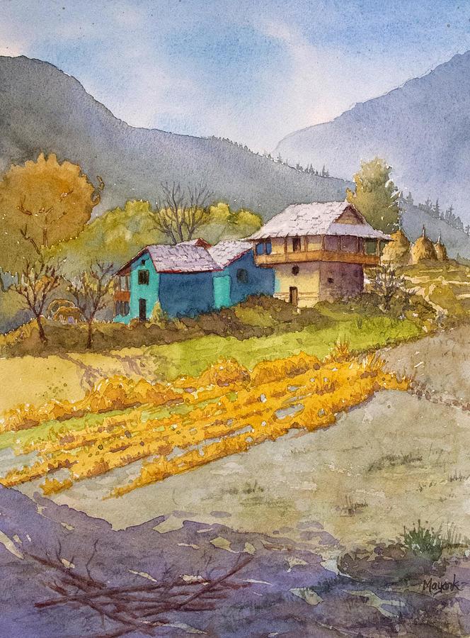 Khokhan Village by Mayank M M Reid