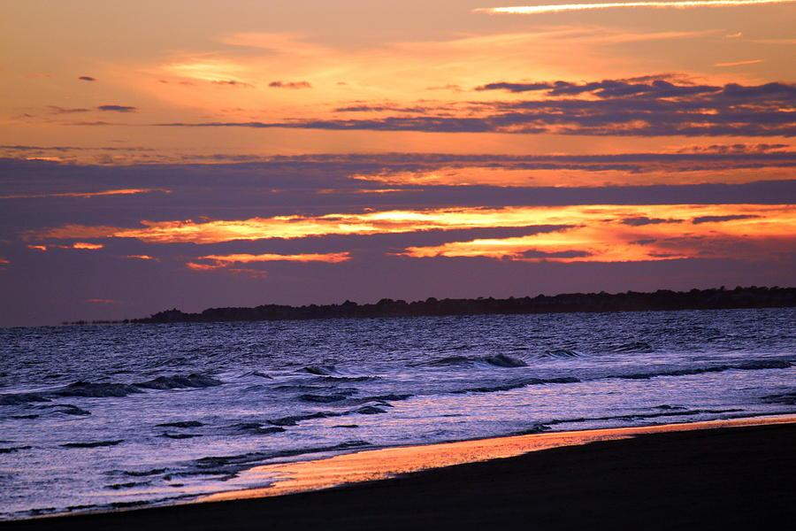 Kiawah Island Photograph - Kiawah Sunset by Rosanne Jordan