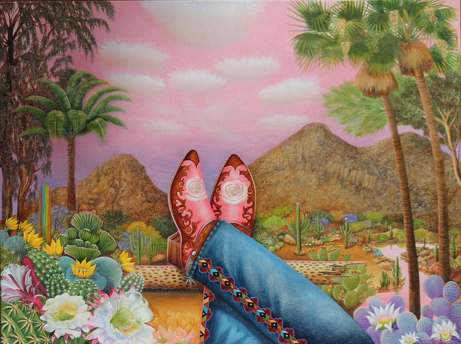 Kickin' Back at Camelback by William T Templeton