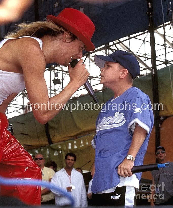 Singer Photograph - Kid Rock And Joe C by Concert Photos