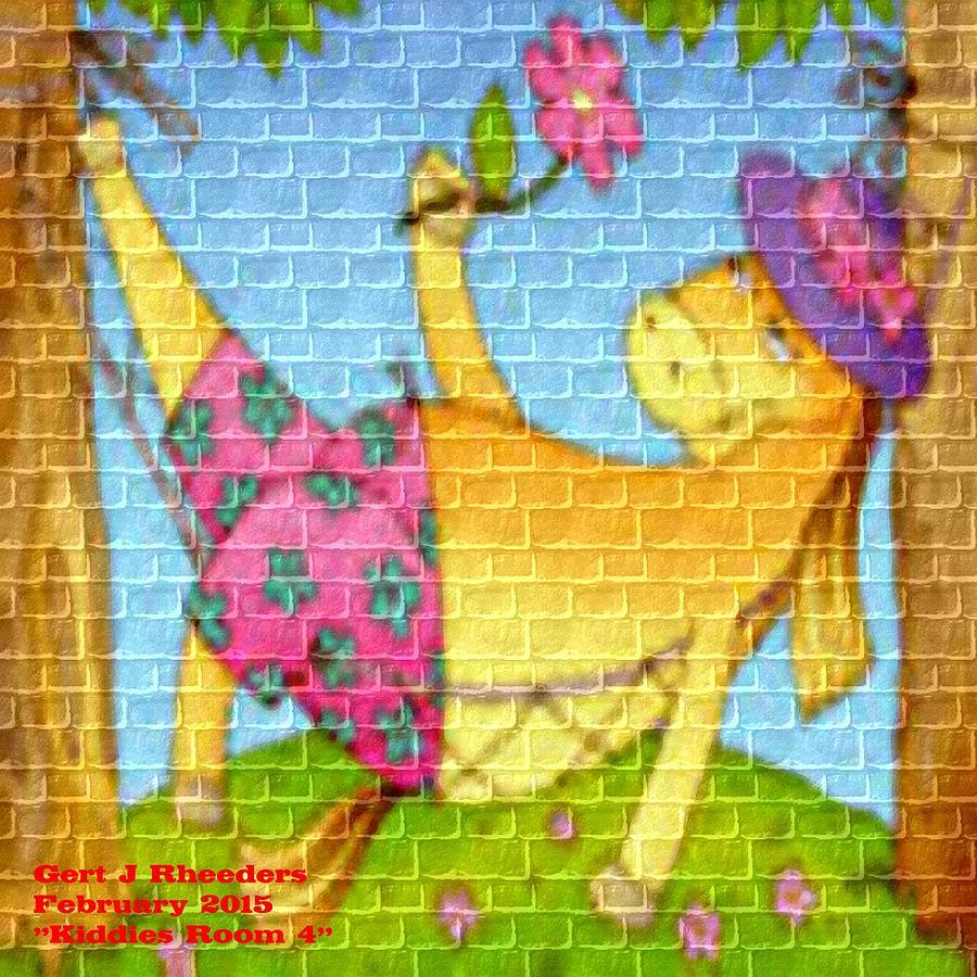 Kiddies Room 4 H A Painting
