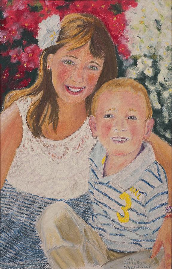 Portraiture Pastel - Kids 1 by Dani Altieri Marinucci