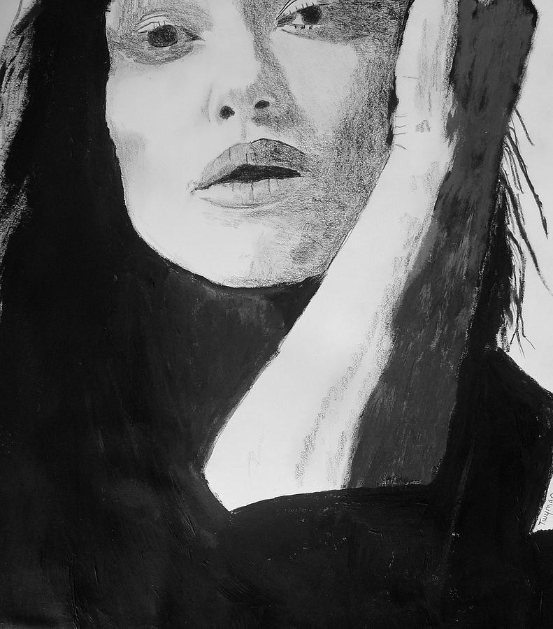Kiera Drawing - Kiera Knightley by Dan Twyman