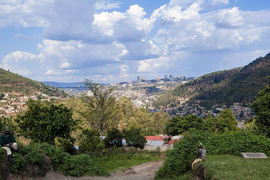 Rwanda Photograph - Kigali Landscape by Paul Weaver