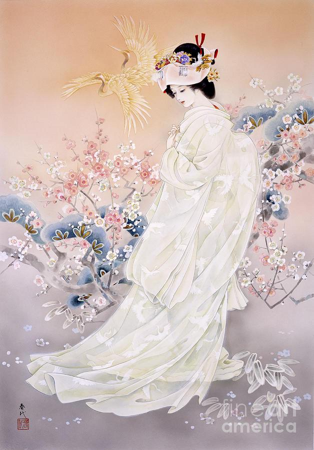 Haruyo Morita Digital Art - Kihaku by Haruyo Morita
