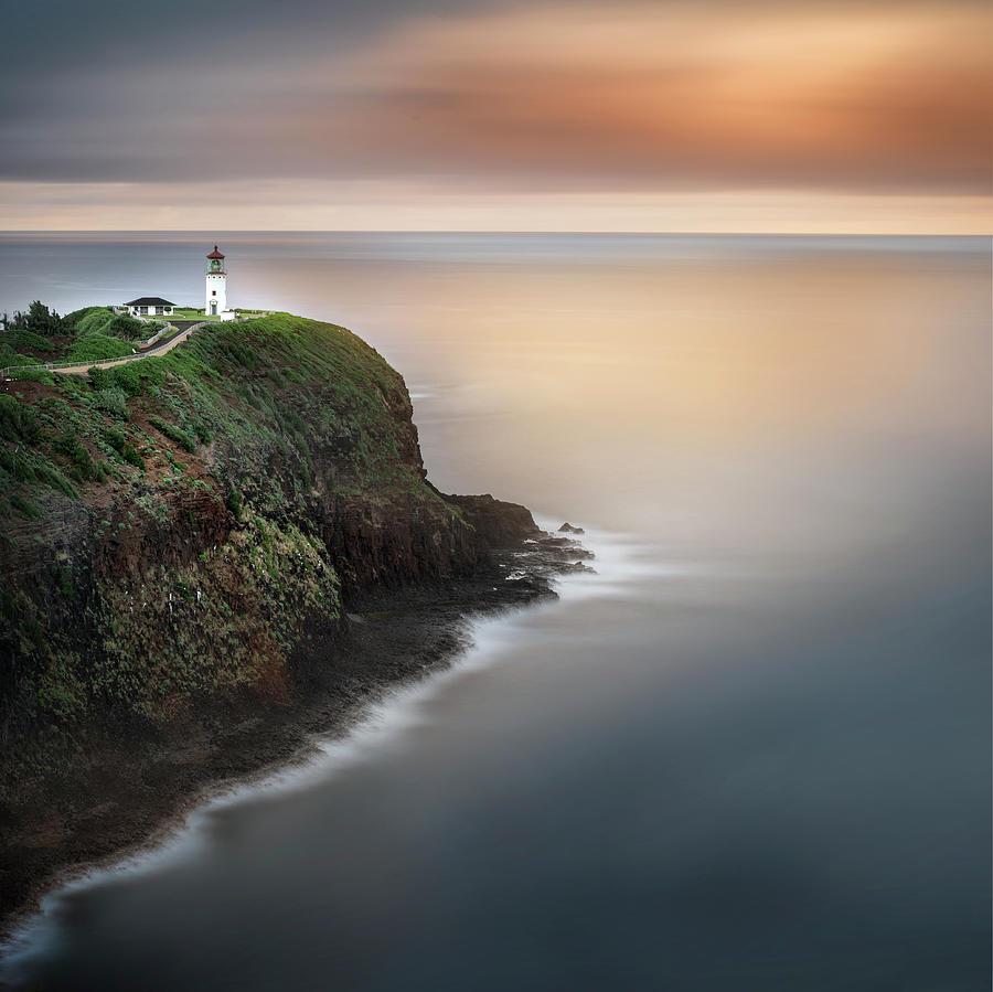 Kilauea Lighthouse At Sunrise Photograph by Ignacio Palacios